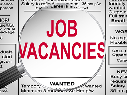 VACANCIES: Looking for a job? Check our on-line classifieds
