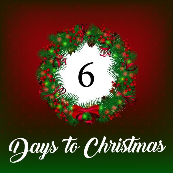 6 days till Christmas… Tuesday, December 19
