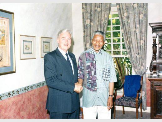 Jacques Sellschop and Madiba: Tales of tennis, phone calls