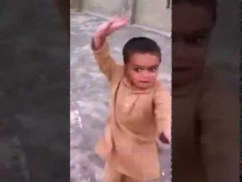 Cute baby dance