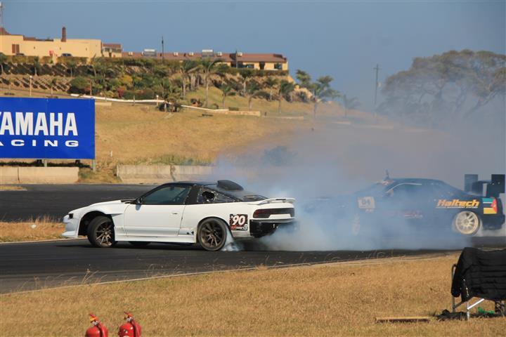 PICS: Drifters do it sideways | South Coast Herald