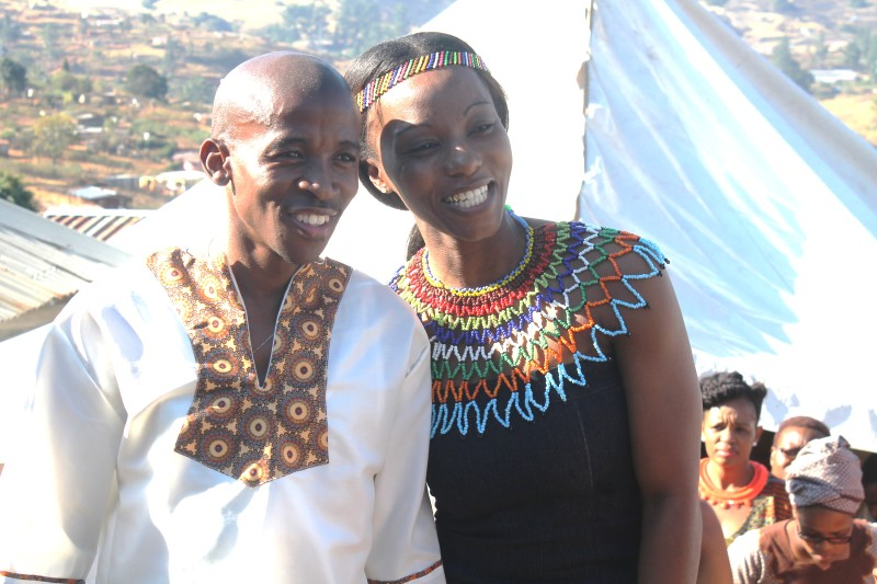 Jubilation as comrades winner weds pmb policewoman public eye comrades 2015 champion gift kelehe tied the knot this weekend in esogidini pietermaritzburg with his sweetheart nombuso maphanga a policewoman negle Images