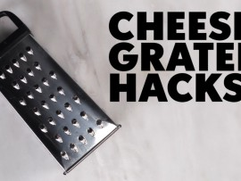 Tuesday life hack: Things you can do with a grater