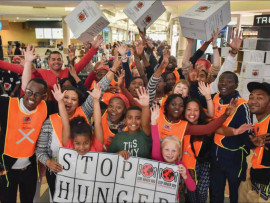 Stop Hunger Now South Africa (SHNSA)'s Mandela Day meal packing event was a huge success with a total of 21 teams packing 100000 meals.
