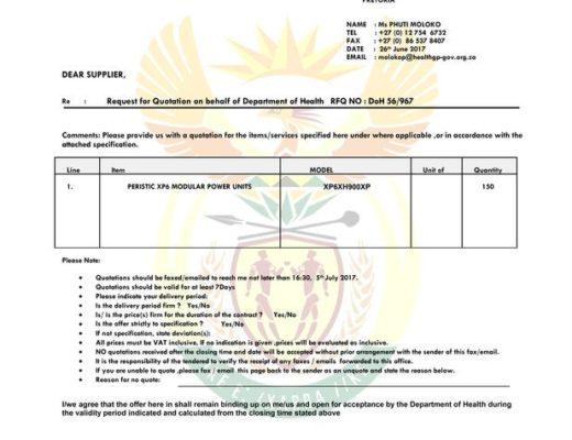 Police warn on fake tender scam | Public Eye