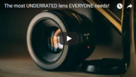 The nifty fifty lens