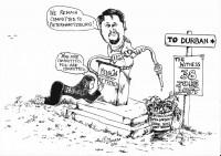 Zimasa Ntuli's depiction of the situation.