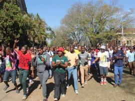 Students of University of KwaZulu-Natal Pietermaritzburg on strike once again.