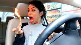 What you go through when you drive thru