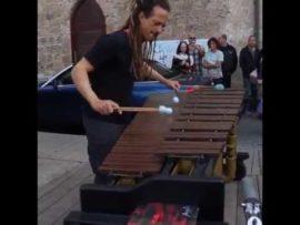 Cold Play's Clocks on marimba