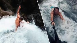 YouTubers Who Died in Waterfall Plunge Were Inspired by 'Jackass' Movie