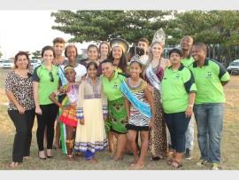 Spreading love and unity -  uMhlathuze Community Tourism Organisation and Trelique modelsPHOTO: WELLINGTON MAKWAKWA