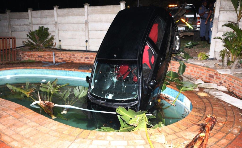 Car crashes through wall into swimming pool zululand - The last picture show swimming pool scene ...