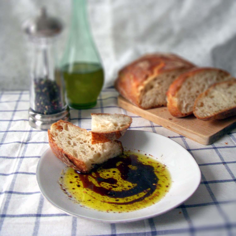 a-plus talian olive oil balsamic bread dip