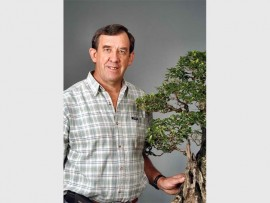 Don't miss an exclusive workshop and demonstration by bonsai expert Charles Ceronio