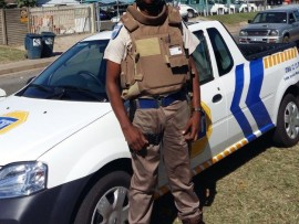 ADT Armed Response Officer Petrus Ndlovu