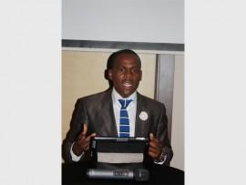 Climbing the business ladder is Lungani Mthembu