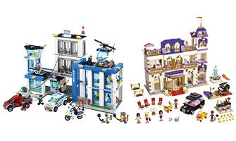 Lego city or Lego friends