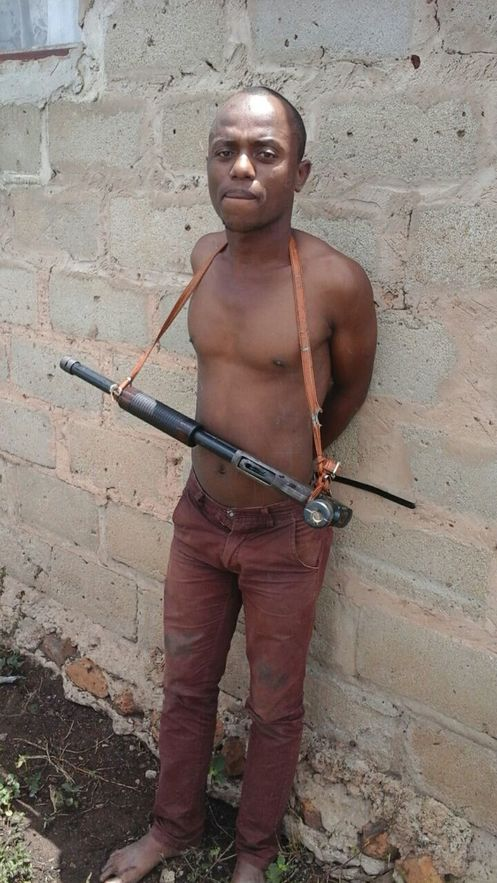 Most wanted - shotgun around the neck, suspect Sbongakonke 'Dada' Cebekhulu has reportedly been on the run for more than three years