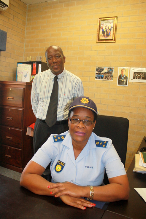 Colonel ZA Sosibo and Richards Bay SAPS Station Commander Brigadier Mgenge thanked the community for their support over the festive period