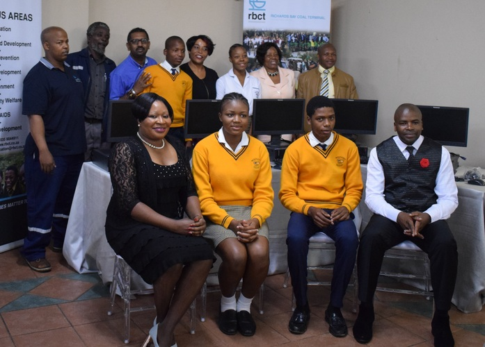 Richards Bay Coal Terminal Supports Zululand Schools
