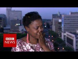 Mugabe resigns: Tears of Joy – BBC News