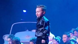 Kempton Park boy goes viral with Elvis dance moves