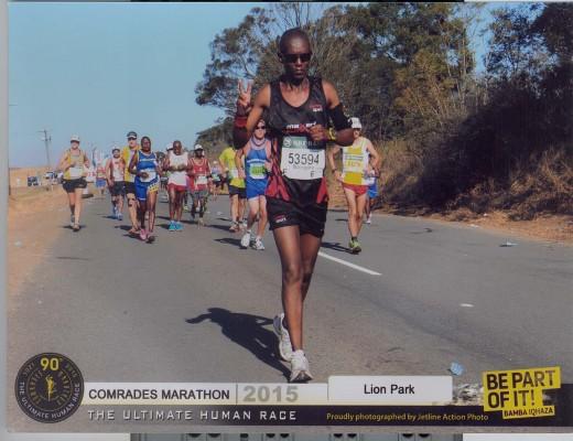 UBONGANI   Nxumalo   waseMbo  engaseHillcrest  umgijimi  weBoxer  Athletic  Club uzophinde abonakale  kwiComrades Marathon  yanonyaka  ezosukela   eMgungundlovu  iphelele  eThekwini ngeSonto   Isithombe: Sithunyelwe.
