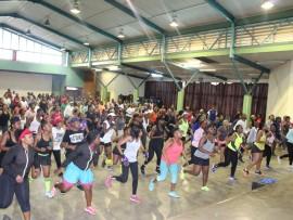 Bezibuya kanje kuma-aerobics kwabesifazane abebeku-Umlazi Sport Day & Picnic ebiseMlazi Comtech esigcemeni sakwa- S eMlazi ngoMgqibelo. Isithombe:Thobile Zwane