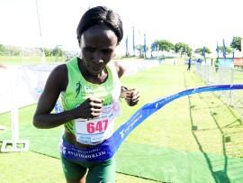 UMelly Kennedy waseKenya udle umhlanganiso kumjaho 42,2 km kowe-Township 2 Township Marathon obusuka eMlazi uya KwaMashu.