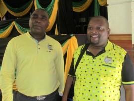 Esithombeni nguMnuz S Mkhombe oyilunga le-ANC KZN PEC kanye noSihlalo we-ANC esifundeni, uRicardo Mthembu