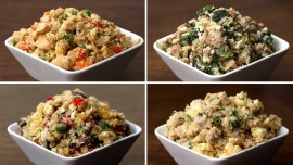 Cauliflower Fried Rice 4 Ways