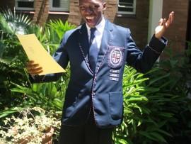 UMFUNDI waseMlazi uSasa Dalamini(17) obefunda eWestville Boys High oseyofunda eHavard University e-United States of  America. Isithombe: Deshni Ramkissoon.