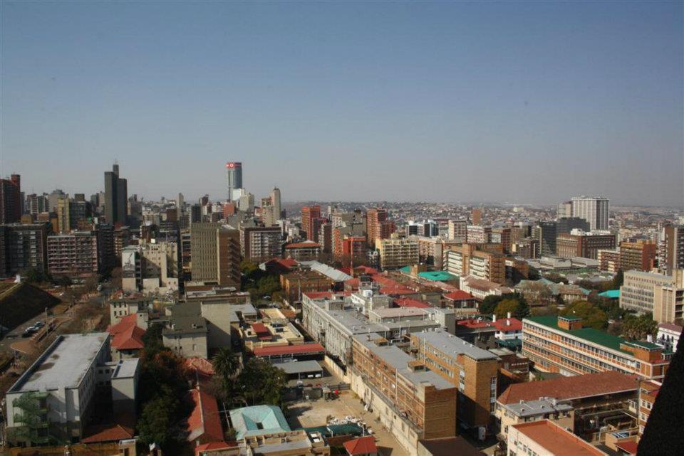 Downtown Joburg.