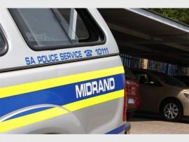 Stock Image: Police van in Midrand.