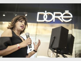 Chief executive officer and creative director of D'ore, Vanessa Gounden.