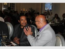 Acting Executive Mayor of the City of Johannesburg Ruby Mathang with Ashraf Garda.