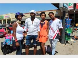 Designers Mathapelo Moloali, Bryan Nare, Boipelo Hlapane, and Nkosana Mafu.