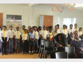 Kaalfontein Primary School pupils.