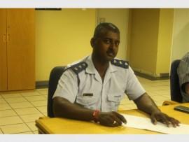 Midrand Police Station's operations commander, Captain Lionel Chetty.