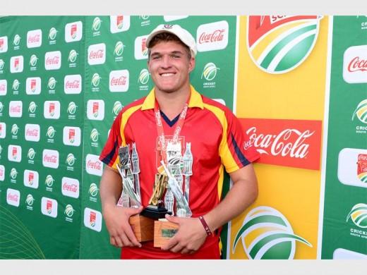 Wiaan Mulder captain of St Stithians Boys' College cricket team.