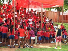Midrand Primary School's inter-house games.