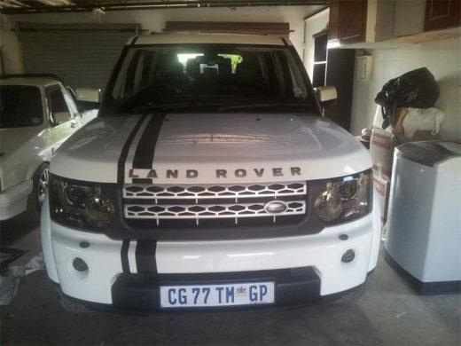 Land Rover stolen | Midrand Reporter
