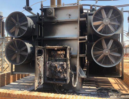 Update: Repairs on burnt Allandale substation complete