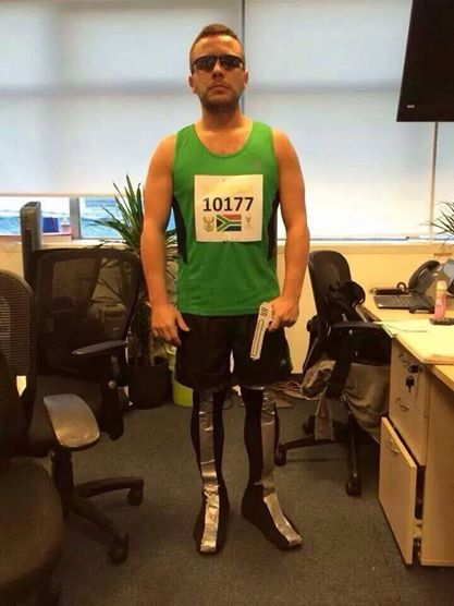Oscar Pistorius was recently found guilty of culpable homicide after he shot and killed his girlfriend  sc 1 st  Newcastle Advertiser & Controversial Halloween costumes - How far is too far?   Newcastle ...