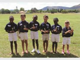 Aphiwe Lukhele, Matthew MacDonald, Thembinkosi Nyirenda, Janko Hatting, Samkelo Mtshali and Hailey van der Westhuizen.