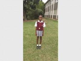 Grade 6 pupil, Londathina Ngwenya is taking the athletics world by storm, both locally and nationally.