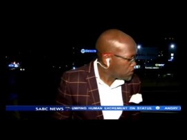 BREAKING NEWS: SABC Reporter mugging caught on camera (Video content)