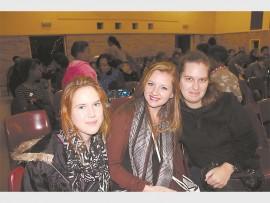 Terri-Lee Botha, Donè De Jonge and Jamie Botha.