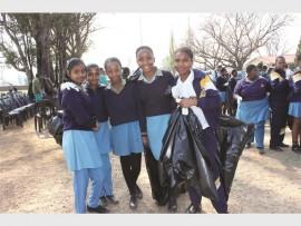 Sashnee Nanan, Xia Ramsaran, Joy Khoza, Siyamthanda Nhlapho and Nontokozo Nkosi.